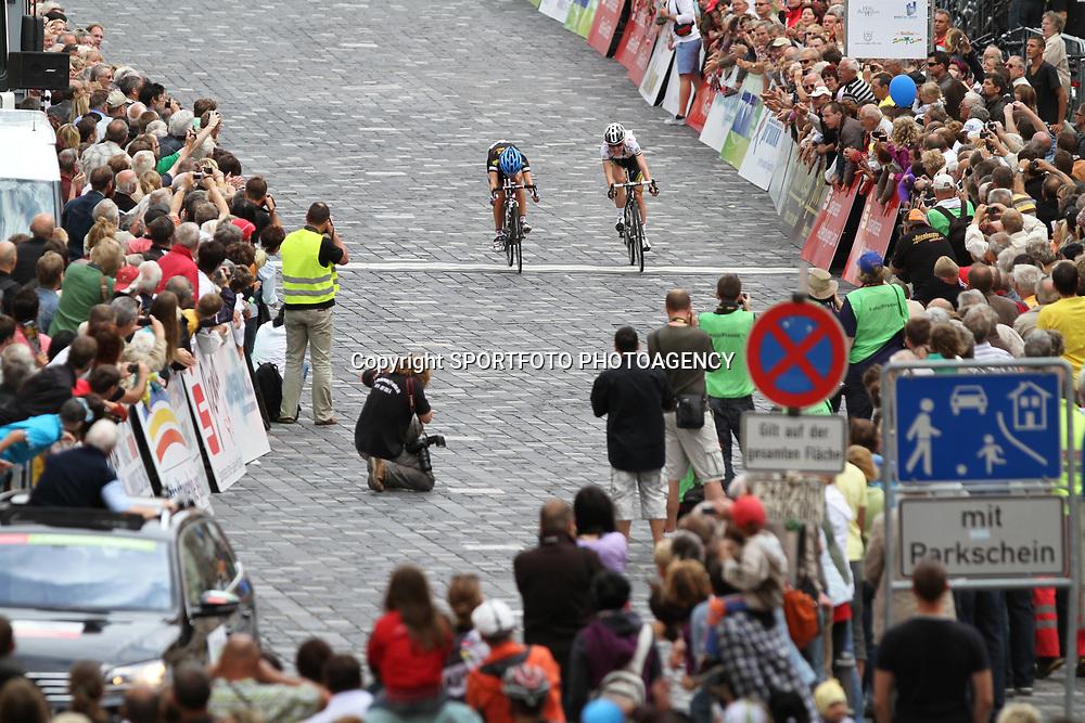 Lizzy Armistadt winss final stage Thueringen Rundfahrt Frauen in Zeulenroda