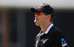New Zealand's Lockie Ferguson during the ICC Cricket World Cup group stage match at Lord's, London.