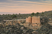Twin Towers ruins, Hovenweep National Monument, Arizona