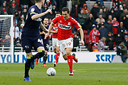 Middlesbrough midfielder Stewart Downing (19)  during the EFL Sky Bet Championship match between Middlesbrough and Derby County at the Riverside Stadium, Middlesbrough, England on 27 October 2018.