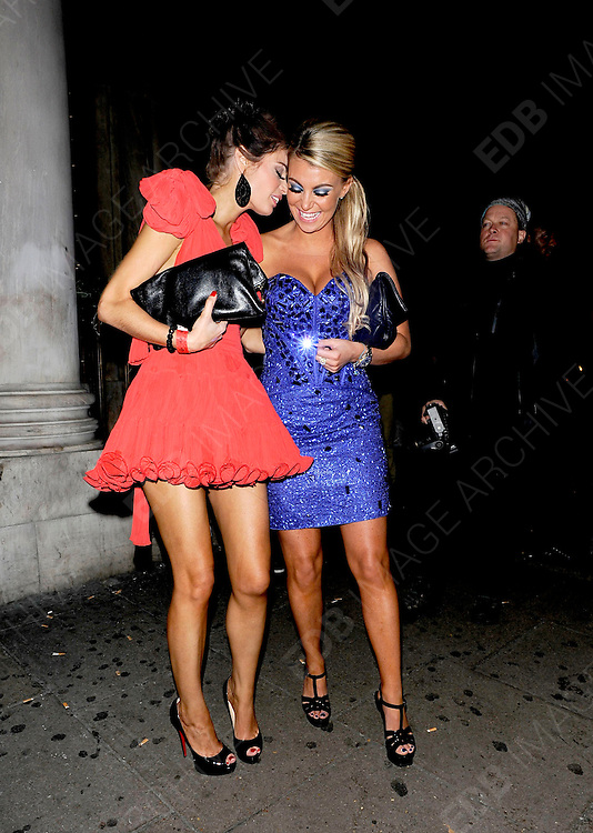 09.NOVEMBER.2011. LONDON<br /> <br /> TOWIE WRAP UP PARTY AT THE PENTHOUSE IN LEICESTER SQUARE <br /> <br /> BYLINE: EDBIMAGEARCHIVE.COM<br /> <br /> *THIS IMAGE IS STRICTLY FOR UK NEWSPAPERS AND MAGAZINES ONLY*<br /> *FOR WORLD WIDE SALES AND WEB USE PLEASE CONTACT EDBIMAGEARCHIVE - 0208 954 5968*