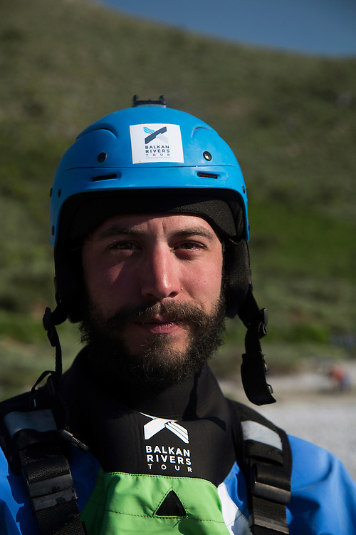 Rok Rozman, founder of Balkans River Tour, a biologist and former Olympic rower for Slovenia. He organized a campaign to paddle the rivers threatened by the wave of dams across the Balkans.