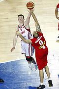 DESCRIZIONE : Wroclaw Poland Polonia Eurobasket Men 2009 Preliminary Round  Polonia Turchia Poland Turkey<br /> GIOCATORE : Ömer Asik<br /> SQUADRA : Polonia Poland Turchia Turkey<br /> EVENTO : Eurobasket Men 2009<br /> GARA : Polonia Turchia Poland Turkey<br /> DATA : 09/09/2009 <br /> CATEGORIA : rimbalzo<br /> SPORT : Pallacanestro <br /> AUTORE : Agenzia Ciamillo-Castoria/E.Castoria<br /> Galleria : Eurobasket Men 2009 <br /> Fotonotizia : Wroclaw Poland Polonia Eurobasket Men 2009 Preliminary Round  Polonia Turchia Poland Turkey<br /> Predefinita :