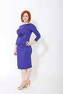 Yvonne Blue Dress