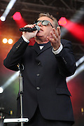 Suggs during the GrandSlam Madness  2014 Arena tour at the BrightonandHoveJobs.com County Ground, Hove, United Kingdom on 28 June 2015. Photo by Phil Duncan.