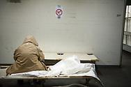 Hals über Kopf hat der Senat<br /> Anfang Dezember weitere<br /> Notschlafpl&auml;tze für Obdachlose<br /> bereitgestellt &ndash; in einem Weltkriegsbunker.