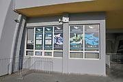The entrance to the Batumi Dolphinarium at 6 of May Park. Batumi, Georgia