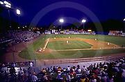 Harrisburg, PA, City Island, AA Baseball, Harrisburg Senators Playing