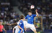 KRAKOW, POLEN 2017-06-24<br /> Mattia Caldara under UEFA U21 matchen mellan Italien och Tyskland p&aring; Krakow Stadium den 24 juni, 2017 i Krakow, Polen<br /> Foto: Nils Petter Nilsson/Ombrello<br /> ***BETALBILD***