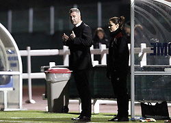 Willie Kirk manager of Bristol City Women - Mandatory by-line: Robbie Stephenson/JMP - Mobile: 07966 386802 - 23/03/2016 - FOOTBALL - Stoke Gifford Stadium - Bristol, England - Bristol City Women v Yeovil Town Ladies - FA Women's Super League 2