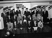 Presentation of Memory Computer Schools Competition prizes at Greshan Hotel, 23rd O'Connell Street Upper, Dublin,<br />