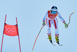 17.02.2018, Jeongseon Alpine Centre, Jeongseon, KOR, PyeongChang 2018, Ski Alpin, Damen, Super G, im Bild Nicole Schmidhofer (AUT) // Nicole Schmidhofer of Austria in action during ladie's SuperG of the Pyeongchang 2018 Winter Olympic Games at the Jeongseon Alpine Centre in Jeongseon, South Korea on 2018/02/17. EXPA Pictures © 2018, PhotoCredit: EXPA/ Johann Groder