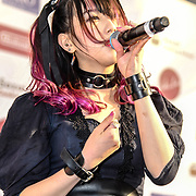 NECRONOMIDOL at Hyper Japan Festival 2019 on 12 July 2019, Olympia London, UK.