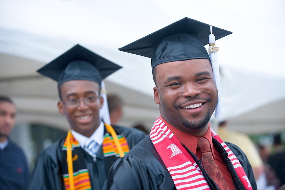 Undergraduate Commencement: Ohio University 2009 ..Michael Adeyanju and Gregory Turner II(right)