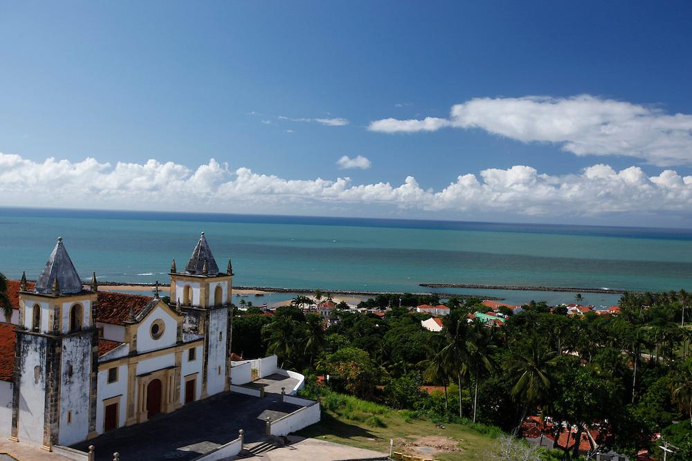 Olinda, PE, Brasil.<br /> <br /> Igeja da Se e parte de um conjunto arquitetonico barroco de excepcional importancia em Olinda, Pernambuco.<br /> <br /> Se Church is the architectural baroque complex very important in Olinda, Pernambuco.<br /> <br /> Foto:  BRUNO MAGALHAES / NITRO
