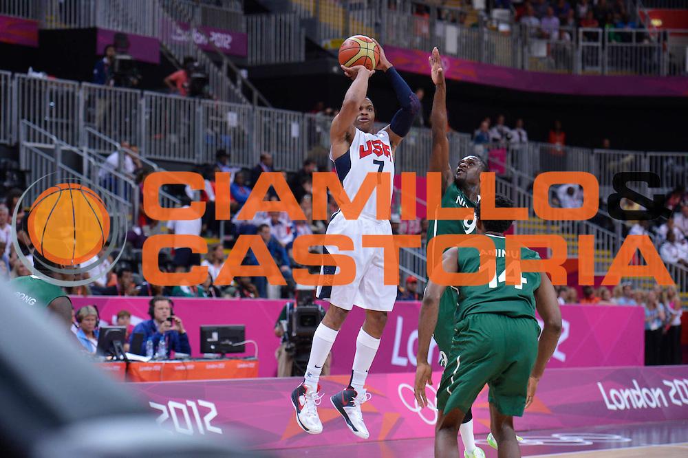 DESCRIZIONE : London Londra Olympic Games Olimpiadi 2012 Men Preliminary Round USA Nigeria<br /> GIOCATORE : Russell WESTBROOK<br /> CATEGORIA : <br /> SQUADRA : USA<br /> EVENTO : Olympic Games Olimpiadi 2012<br /> GARA : USA Nigeria<br /> DATA : 02/08/2012<br /> SPORT : Pallacanestro <br /> AUTORE : Agenzia Ciamillo-Castoria/M.Marchi<br /> Galleria : London Londra Olympic Games Olimpiadi 2012 <br /> Fotonotizia : London Londra Olympic Games Olimpiadi 2012 Men Preliminary Round USA Nigeria<br /> Predefinita :