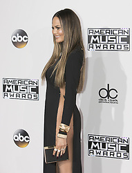 November 20, 2016 - Los Angeles, California, U.S - Chrissy Teigen on the Red Carpet of the 2016 American Music  Awards held on Sunday, November 20, 2016 at the Microsoft  Theatre in Los Angeles, California. (Credit Image: © Prensa Internacional via ZUMA Wire)