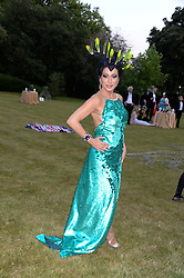 NANCY DELL'OLIO at The Animal Ball in aid of The Elephant Family held at Lancaster House, London on 9th July 2013.