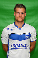 Alexandre Vincent of Auxerre during Auxerre squad photo call for the 2016-2017 Ligue 2 season on September, 7 2016 in Auxerre, France ( Photo by Andre Ferreira / Icon Sport )