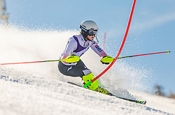 8# Zbasnik Lana from Croatia during the slalom of National Championship of Slovenia 2019, on March 24, 2019, on Krvavec, Slovenia. Photo by Urban Meglic / Sportida