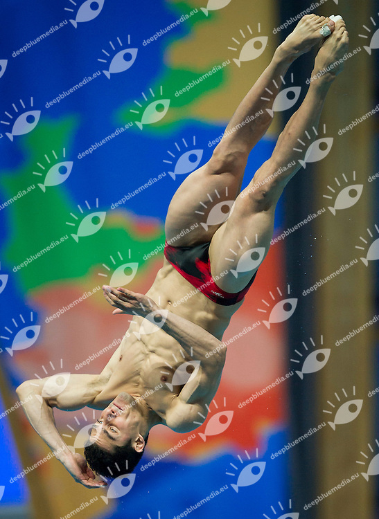 RZESZUTEK Andrzej POL Poland<br /> Diving 3m Springboard Men<br /> Day7 30/07/2015<br /> XVI FINA World Championships Aquatics<br /> Diving<br /> Kazan Tatarstan RUS July 24 - Aug. 9 2015 <br /> Photo Pasquale Mesiano/Deepbluemedia/Insidefoto