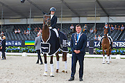 Beatrice Buchwald - Victoria's Secret<br /> Longines FEI/WBFSH World Breeding Dressage Championships for Young Horses 2016<br /> © DigiShots