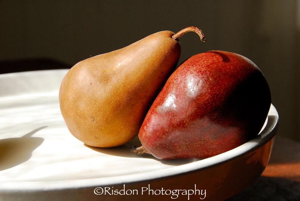 Still life Pears, apples