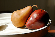 Still life Pears, apples