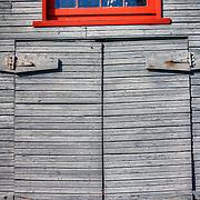 Old door in Gig Harbor, WA