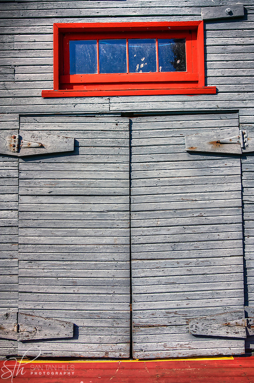 Old door in Gig Harbor, WA