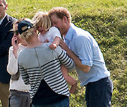 Playful Prince Harry With Niece Mia