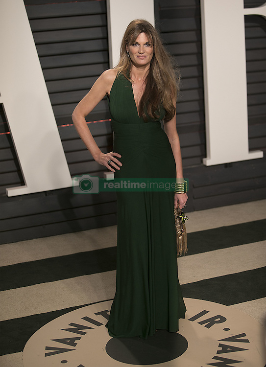 February 26, 2017 - Beverly Hills, California, U.S - Jemima Goldsmith on the red carpet at the 2017 Vanity Fair Oscar Party held at the Wallis Annenberg Center in Beverly Hills, California, Sunday February 26, 2017. (Credit Image: © Prensa Internacional via ZUMA Wire)
