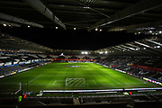 General view of the Liberty Stadium ahead of the EFL Sky Bet Championship match between Swansea City and Queens Park Rangers at the Liberty Stadium, Swansea, Wales on 11 February 2020.