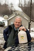 David Marvin, Butternut Mountain Farm Maple Sugaring, Johnson, Vermont.