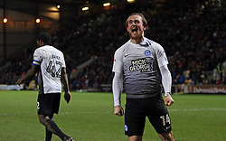 Jack Marriott of Peterborough United celebrates his second goal of the game - Mandatory by-line: Joe Dent/JMP - 26/12/2017 - FOOTBALL - Northern Commercials Stadium - Bradford, England - Bradford City v Peterborough United - Sky Bet League One