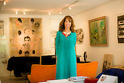 Isabel Aninat, licenciada en Filosofía y estética, dueña de la Galería Isabel Aninat. Santiago de Chile, 17-12-2014 (©Alvaro de la Fuente/Triple.cl)