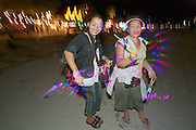 The notorious Full Moon Party at Hat Rin beach on the small Thai island of Ko Pha-Ngan is Asia's biggest regular rave event. Selling battery powered dance lights.