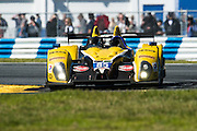 January 22-25, 2015: Rolex 24 hour. 85, Chevrolet, ORECA FLM09, PC, Stephen Simpson, Mikhail Goikhberg