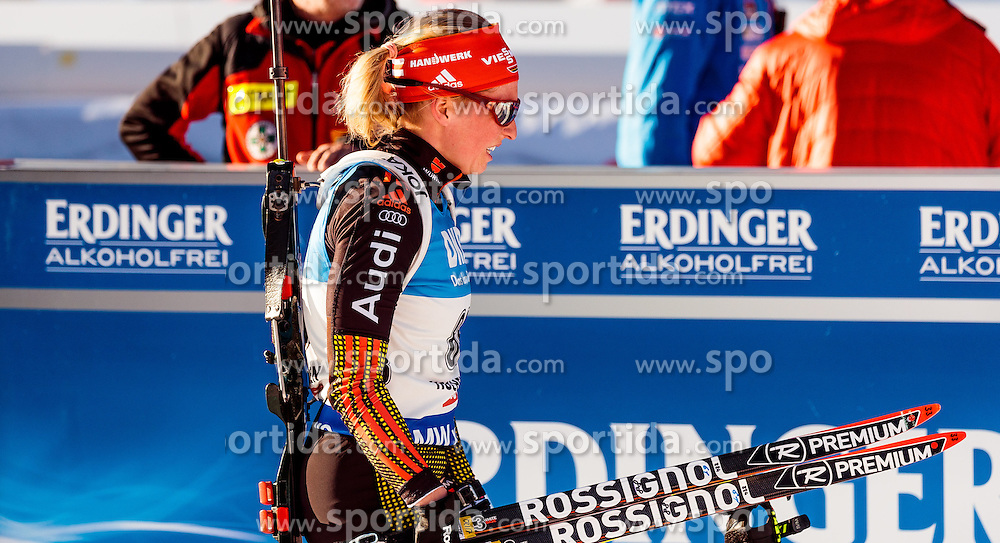 15.02.2017, Biathlonarena, Hochfilzen, AUT, IBU Weltmeisterschaften Biathlon, Hochfilzen 2017, Damen, Einzel, im Bild Franziska Hildebrand (GER) // Franziska Hildebrand of Germany // during individual women the IBU Biathlon World Championship at the at the Biathlonarena in Hochfilzen, Austria on 2017/02/15. EXPA Pictures © 2017, PhotoCredit: EXPA/ JFK