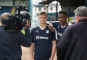 Dundee new boys Riccardo Calder and Rhys Healey<br /> <br />  - &copy; David Young - www.davidyoungphoto.co.uk - email: davidyoungphoto@gmail.com