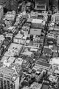 Rooftops in the Rappongi neighborhood of Tokyo.