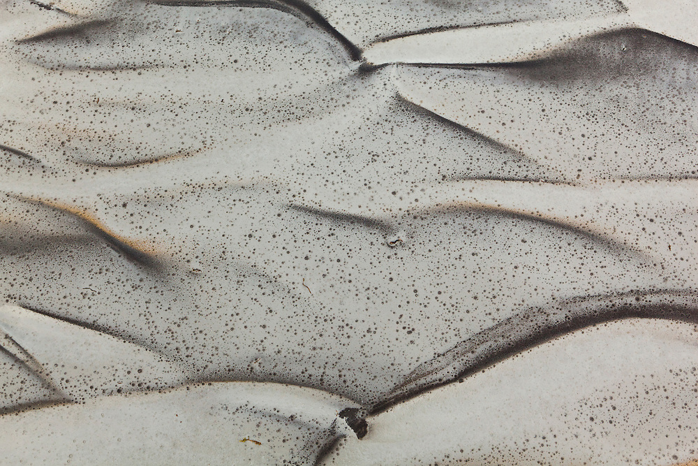 Landscapes in volcanic mud