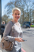 JULIANNE UGGLA, Leaving The Seventh Annual Foreign Sisters Lunch in aid of Cancer Research UK. . The Dorchester 53 Park Lane. London. 1 May 2013.