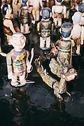 Water puppets at Angsana Lang Co, Central Vietnam