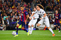 NEYMAR JR / David LUIZ - 21.04.2015 - Barcelone / Paris Saint Germain - 1/4Finale Retour Champions League<br />