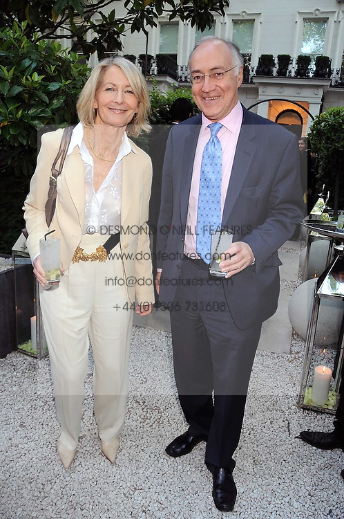 MICHAEL & SANDRA HOWARD at the Tatler Summer Party, The Hempel Hotel, 31-35 Craven Hill Gardens, London W2 on 25th June 2008.<br />