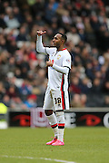 Milton Keynes Dons midfielder Rob Hall (38) during the Sky Bet Championship match between Milton Keynes Dons and Brighton and Hove Albion at stadium:mk, Milton Keynes, England on 19 March 2016.