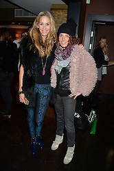 Left to right, LISA BUTCHER and TARA SMITH at a party to launch Madderson London Women's Wear held at Beaufort House, 354 Kings Road, London on 23rd January 2014.