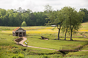 Andersonville National Historic Site home to the former Camp Sumter Confederate prisoner of war camp where 45,000 Union prisoners were held May 6, 2013 in Andersonville, Georgia.