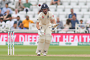 Ollie Pope of England looking solid during the 3rd International Test Match 2018 match between England and India at Trent Bridge, West Bridgford, United Kingdon on 21 August 2018.